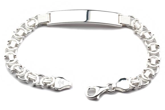 Silberarmband 21 cm