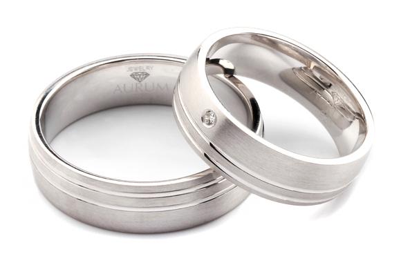 Eheringe silber  Silber Trauringe: Partnerringe Eheringe m. Zirkonia