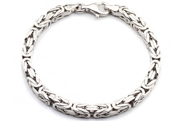 925 Silberarmband K 246 Nigsarmband Silber 6mm 21cm Karh