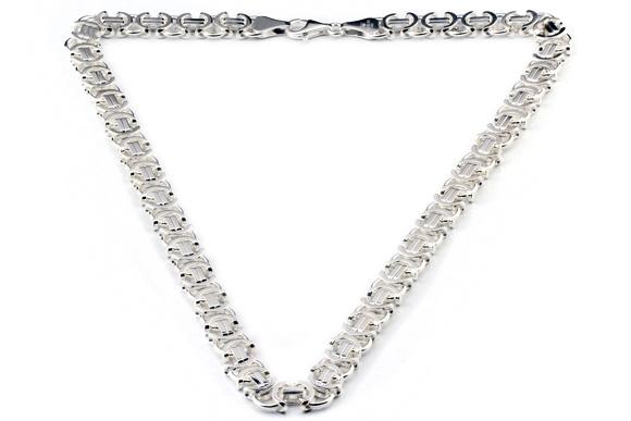 flache Königskette