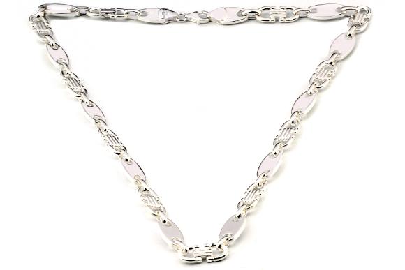 torssissire: Silberketten für männer