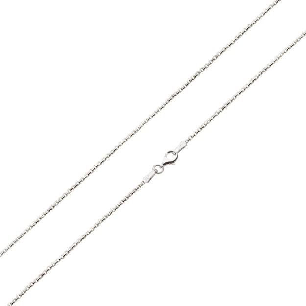 Feine Veneziakette Silber 1,6 mm und 40 cm - 70 cm