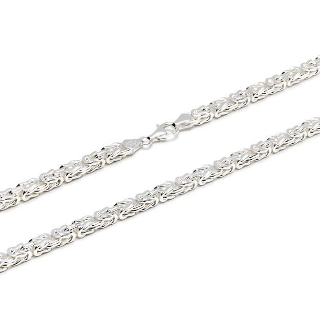 Königskette Silber 5 mm und 55 cm - 65 cm