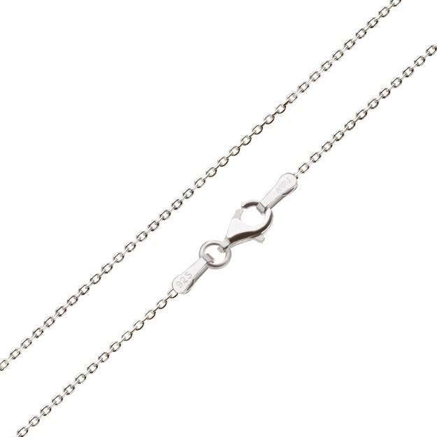 Feine Ankerkette Silber 1,7 mm und 40 cm - 70 cm