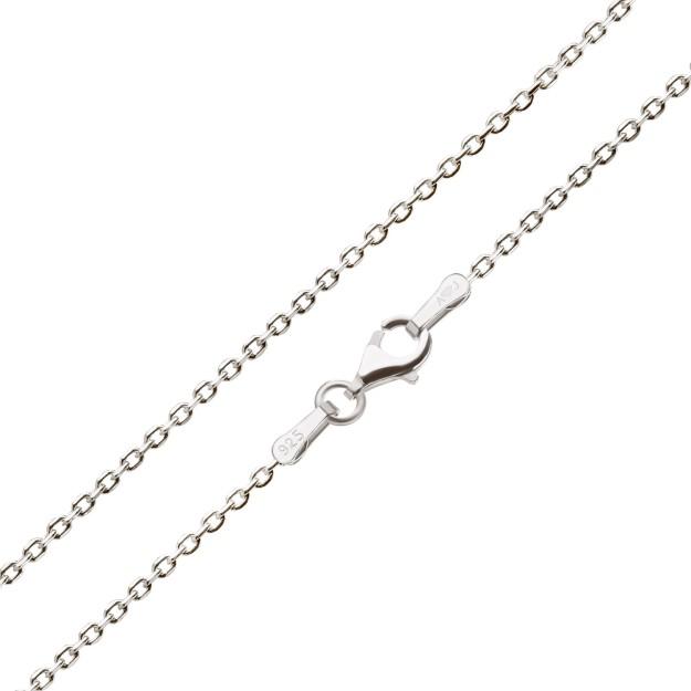 Feine Ankerkette Silber 2,0 mm und 40 cm - 70 cm